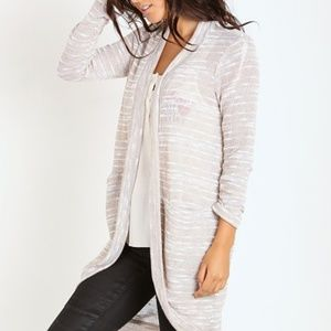 • Splendid •  Upstate Loose Knit Cardigan Almond